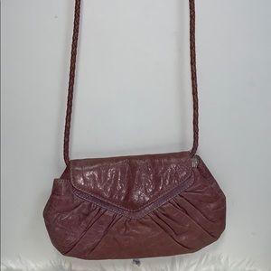 Lauren Merkin Ligth Purple Clutch/Crossbody Bag